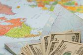 Travel plans — Stock Photo