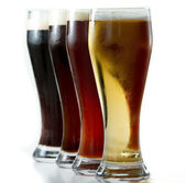 Different beers — Stock Photo