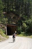 Входа в туннель — Стоковое фото