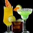 Refreshing cocktails — Stock Photo