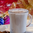 Christmas mocha — Stock Photo