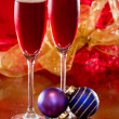 Christmas Champagne — Stock Photo #32919939