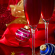 Christmas Champagne — Stock Photo #32920963