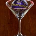 圣诞马提尼酒 — 图库照片