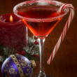 Christmas Martini — Stock Photo