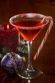 Christmas Martini — Stock Photo
