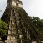 Постер, плакат: Great Jaguar Temple Tikal Guatemala