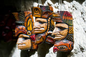 Central american masks — Stock Photo