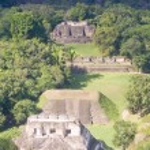 Xunantunich, Maya ruins — Stock Photo