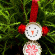 Hand made ornament — Stockfoto