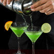Stock Photo: Bar tending