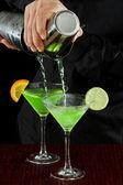 Bar tending — Stock Photo