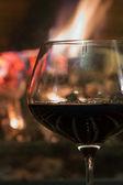 Relaxing red wine — Foto de Stock