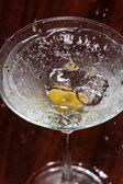 Martini Olive — Stock Photo