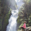 Постер, плакат: Bridal veil falls Oregon
