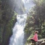 ������, ������: Bridal veil falls Oregon