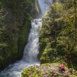 Bridal veil falls, Oregon — Stock Photo #44890451