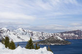 Crater lake Oregon — Stock Photo
