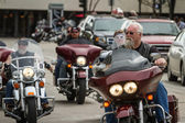 Motorcycle rally  — Stock Photo