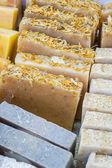 Hand made soap — Stock Photo