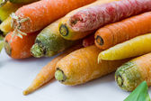 Raw carrot close-up — Stock Photo