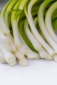 Leeks or green onions — Foto Stock