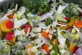 Mixed organic vegetables  — Stock Photo
