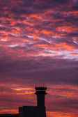 Airport control tower — Stock Photo