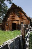 Old farmhouse in South Dakota — Stock Photo