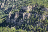 Aerial view of spear fish canyon, South Dakota  — Stock Photo