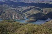 Sheridan Lake, aerial view — Stock Photo
