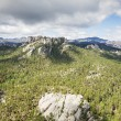 Aerial view of mount Rushmore at a distance in South Dakota  — Stock Photo #49140039