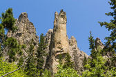 Hiking in Custer State Park, South Dakota — Stock Photo