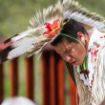 Native American performer — Stock Photo #49449945