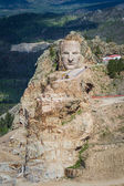 Aerial view of Crazy Horse  — Stock Photo