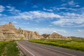 Podróży badlands, dakota południowa — Zdjęcie stockowe