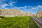 Traveling the Badlands, South Dakota — Stock Photo