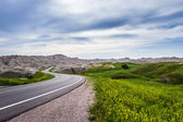 Traveling the Badlands, South Dakota — Stock Photo