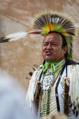 Native American performer — Photo