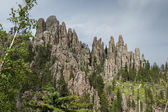 Granite formations in South Dakota — Stockfoto