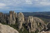 Granite formations in South Dakota — Stock Photo