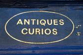 Antiques and Curios — Stock Photo