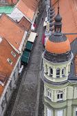 Maribor från ovan — Stockfoto