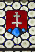 Slovak stained glass — Stock Photo