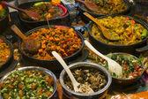 Brick Lane food — Stock Photo