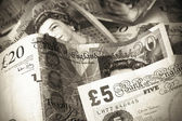 British currency — Stockfoto