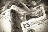Britse valuta — Stockfoto