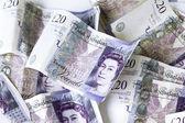 British 20 pounds — Stock Photo