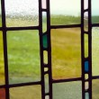 Stock Photo: Stained glass background