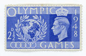 Vintage stamp - Great Britain Olympic Games — Stock Photo